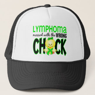 Lymphoma Messed With The Wrong Chick Trucker Hat