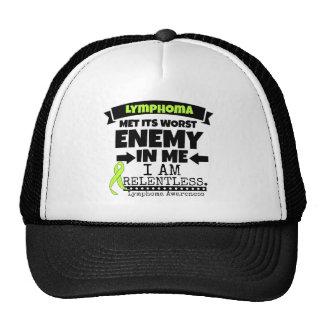 Lymphoma Met Its Worst Enemy in Me Trucker Hat