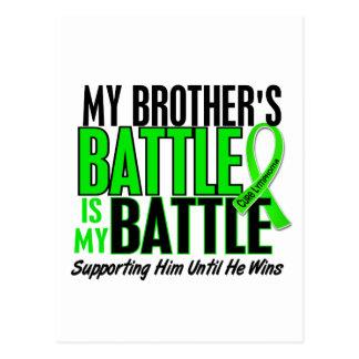 Lymphoma My Battle Too 1 Brother Postcard
