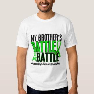 Lymphoma My Battle Too 1 Brother Tee Shirt