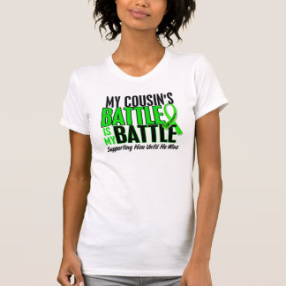 Lymphoma My Battle Too 1 Cousin (Male) T-Shirt