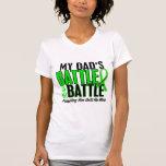 Lymphoma My Battle Too 1 Dad T-shirt