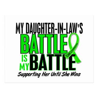 Lymphoma My Battle Too 1 Daughter-In-Law Postcard
