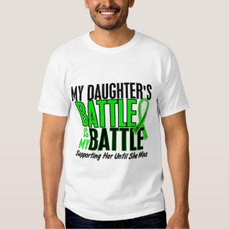 Lymphoma My Battle Too 1 Daughter T Shirts