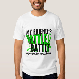 Lymphoma My Battle Too 1 Friend (Female) T-Shirt