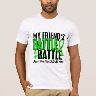 Lymphoma My Battle Too 1 Friend (Male) T-Shirt