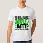 Lymphoma My Battle Too 1 Girlfriend Tshirt
