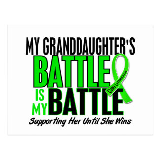 Lymphoma My Battle Too 1 Granddaughter Postcard