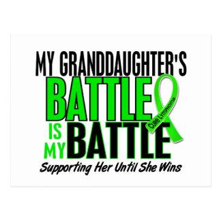Lymphoma My Battle Too 1 Granddaughter Postcard
