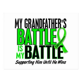 Lymphoma My Battle Too 1 Grandfather Postcard