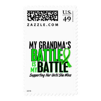 Lymphoma My Battle Too 1 Grandma Postage Stamps