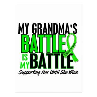 Lymphoma My Battle Too 1 Grandma Postcard