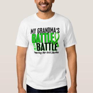 Lymphoma My Battle Too 1 Grandma T-Shirt