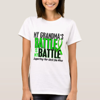 Lymphoma My Battle Too 1 Grandma T-Shirt