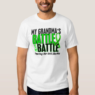Lymphoma My Battle Too 1 Grandma Tee Shirt