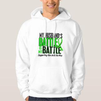 Lymphoma My Battle Too 1 Husband Sweatshirt