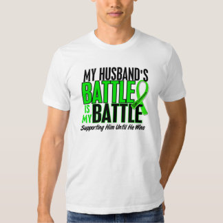 Lymphoma My Battle Too 1 Husband T Shirt