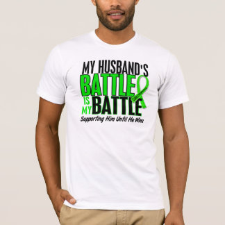 Lymphoma My Battle Too 1 Husband T-Shirt