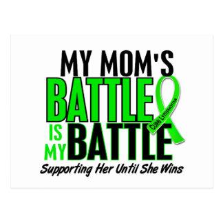 Lymphoma My Battle Too 1 Mom Postcard