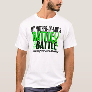 Lymphoma My Battle Too 1 Mother-In-Law T-Shirt