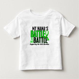 Lymphoma My Battle Too 1 Nana Toddler T-shirt
