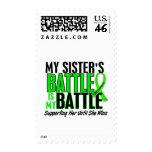 Lymphoma My Battle Too 1 Sister Postage