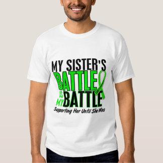 Lymphoma My Battle Too 1 Sister T-Shirt
