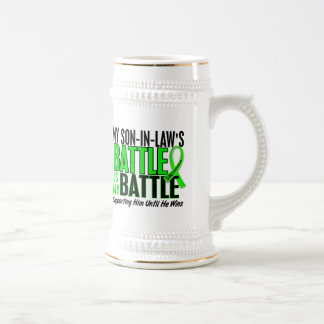 Lymphoma My Battle Too 1 Son-In-Law Beer Stein
