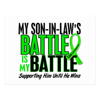 Lymphoma My Battle Too 1 Son-In-Law Postcard
