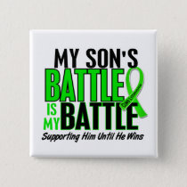 Lymphoma My Battle Too 1 Son Pinback Button