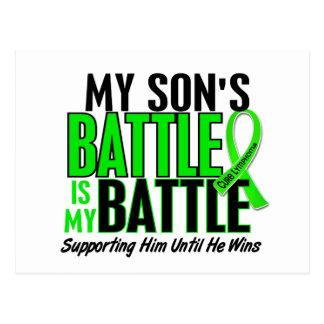 Lymphoma My Battle Too 1 Son Postcard