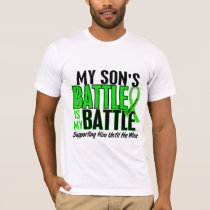 Lymphoma My Battle Too 1 Son T-Shirt