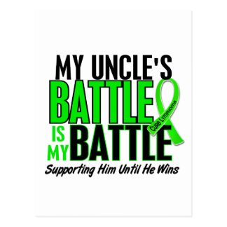 Lymphoma My Battle Too 1 Uncle Postcard