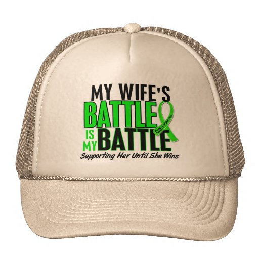 Lymphoma My Battle Too 1 Wife Mesh Hats
