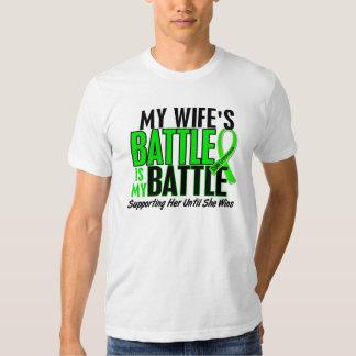 Lymphoma My Battle Too 1 Wife Tees