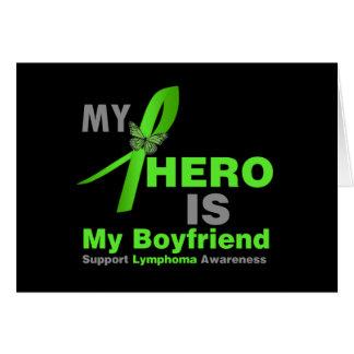 Lymphoma My Hero is My Boyfriend Card