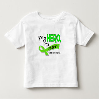 Lymphoma MY HERO MY AUNT 42 Toddler T-shirt