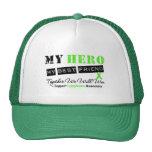 LYMPHOMA My Hero My Best Friend We Will Win Trucker Hat