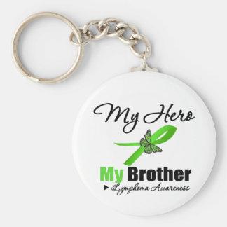 Lymphoma My Hero My Brother Keychain