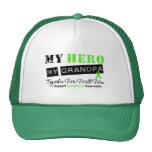 LYMPHOMA My Hero My Grandpa We Will Win Trucker Hat