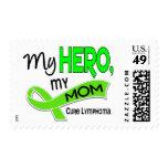 Lymphoma MY HERO MY MOM 42 Postage