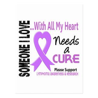 Lymphoma Needs A Cure 3 Postcard