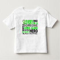 Lymphoma Non-Hodgkins HERO COMES ALONG 1 Nana Toddler T-shirt