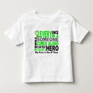 Lymphoma Non-Hodgkins HERO COMES ALONG 1 Nana Toddler T-shirt