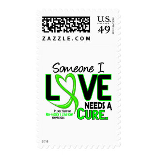 Lymphoma NonHodgkins NEEDS A CURE 2 Postage Stamps