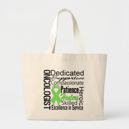Lymphoma Oncologist Collage Tote Bags