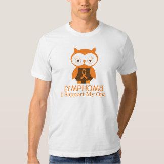 Lymphoma Orange Ribbon Awareness Opa T-shirt