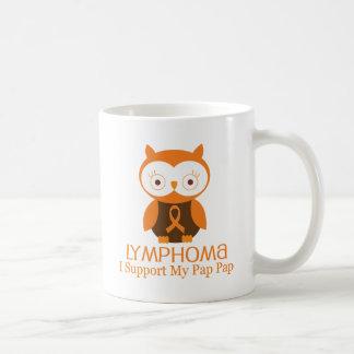 Lymphoma Orange Ribbon Awareness Pap Pap Coffee Mug