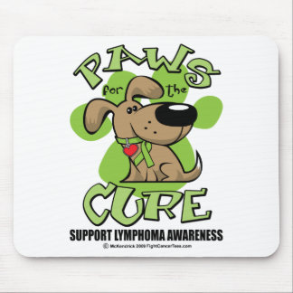 Lymphoma Paws for the Cure Mouse Pad