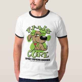Lymphoma Paws for the Cure T-Shirt